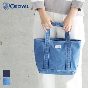 (2018春夏)ORCIVAL (オーシバル/オーチバル)デニム トートバック S RC-7118(HDN/DNH) 2018SS|santelabo