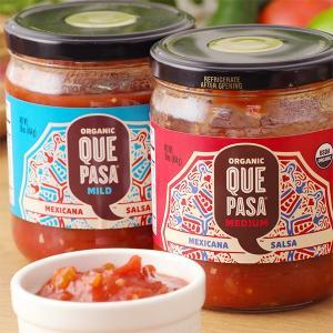 QUEPASA ケパサ オーガニック サルサ (メキシカンスタイル サルサ オーガニック マイルド ...