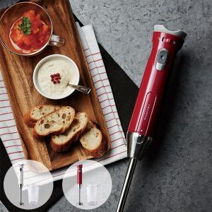 レコルト ハンディブレンダースリム(recolte ブレンダー ミキサー RHB-1 ジューサー 泡だて器 スムージー ハンドミキサー ハンディミキサー スープ 離乳食)|santelabo