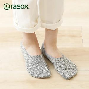 ラソックス スプラッシュ カバー rasox (ラソックス レディース スプラッシュ カバー rasox ソックス 靴下 コットン フットカバー 綿 L字 CA141CO01)|santelabo