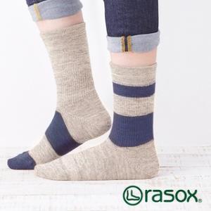 ラソックス DRミックス rasox (ラソックス レディース DRミックス rasox ソックス 靴下 コットン L字 CA090CR10)|santelabo