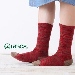 ラソックス ウォームウール・クルー rasox (ラソックス レディース クルー rasox ソックス 靴下 L字 CA132CR05)|santelabo