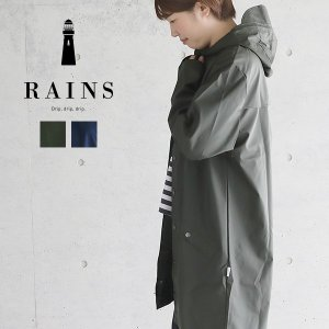 レインズ レインコート ロングジャケット RAINS Long Jacket カッパ ユニセックス|santelabo