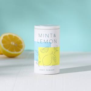 生活の木 ボディーパウダー ミント&レモン 40g(ボディケア パウダー 夏)