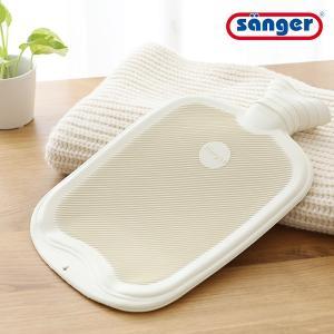 からだと環境にやさしい湯たんぽ。 サンガー社の湯たんぽは厳選された高品質の天然ゴム100%です。天然...