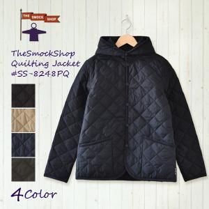 スモックショップ キルティング ジャケット SS-8248 8248PQ キルト ジャケット smock shop|santelabo