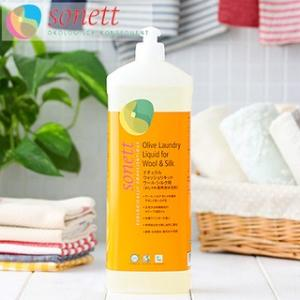 ソネット 洗剤 ナチュラルウォッシュリキッド ウール・シルク用 1リットル SONETT (ウール・シルク用 オーガニック エコ エコ洗剤)|santelabo