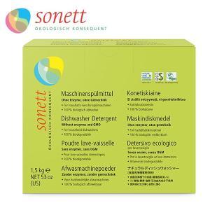 (10%OFFクーポン発行中)ソネット 洗剤 食洗機用洗剤 ナチュラルディッシュウォッシャー 1kg SONETT (オーガニック エコ 台所のせっけん 台所 石鹸)|santelabo