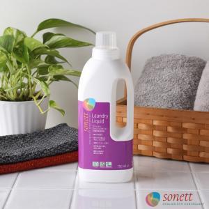 ソネット 洗剤 ナチュラルウォッシュリキッド 750mL 洗濯用液体洗剤 SONETT (オーガニック エコ 洗剤 洗濯 せんたく 液体洗剤 日用品)|santelabo