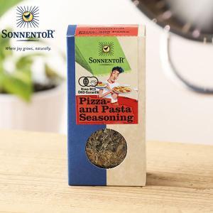 ゾネントア ブレンドスパイス ピザ&パスタシーズニング 25g (sonnentor スパイス 有機栽培 オーガニック ハーブ オーガニック食品)|santelabo