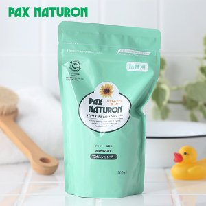 パックスナチュロン シャンプー 詰替用 500ml (太陽油脂 石鹸シャンプー 植物性石鹸シャンプー)|santelabo