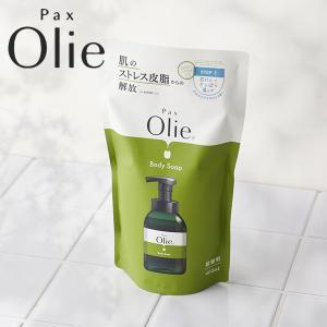 パックス オリーボディーソープ 500ml 詰替用(詰め替え 詰替え 太陽油脂 植物性石鹸)|santelabo