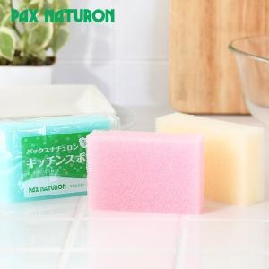 パックスナチュロン キッチンスポンジ 8g (太陽油脂 キッチンスポンジ 食器洗い)|santelabo