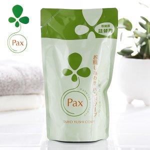 パックスナチュロン お肌しあわせハンドソープ 詰替用 300ml(太陽油脂 詰め替え 詰替え)|santelabo