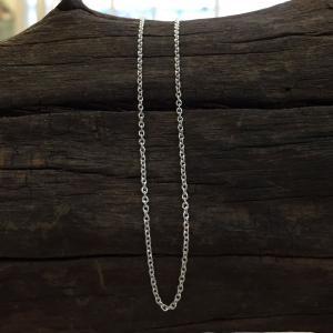アズキチェーン silver925  長さ 50cm 太さ 1.2m 線型 0.35m