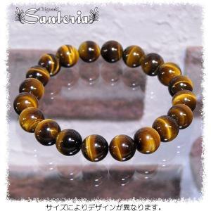 タイガーアイブレス 天然石パワーストーンブレスレット タイガーアイAAA 10mm.オリジナル|santeria