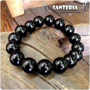 モリオン 黒水晶 チベット産 12mm お勧め 天然石パワーストーンブレスレット|santeria