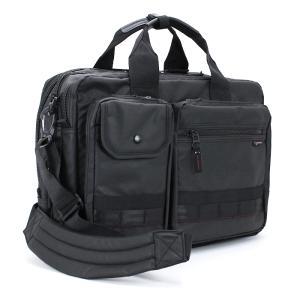 ロスコ ROTHCO ビジネスバッグ (M) ショルダー付 45004 ブラック 手提げ 肩掛け リュック 3WAYバッグ マチ幅拡張機能搭載 ブリーフケース|santnore