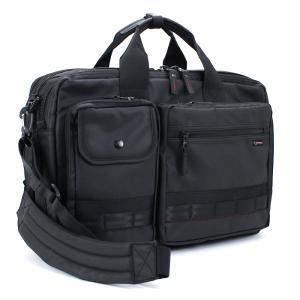 ロスコ ROTHCO ビジネスバッグ (L) ショルダー付 45005 ブラック 手提げ 肩掛け リュック 3WAYバッグ マチ幅拡張機能搭載 ブリーフケース|santnore