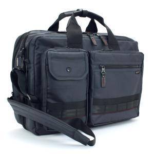 ロスコ ROTHCO ビジネスバッグ (L) ショルダー付 45005 ネイビー 手提げ 肩掛け リュック 3WAYバッグ マチ幅拡張機能搭載 ブリーフケース|santnore