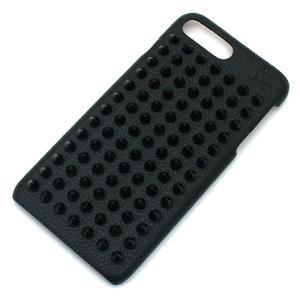 ずらりと並んだスパイクがインパクト抜群!クリスチャンルブタンのiPhoneケースです。内側は、レッド...