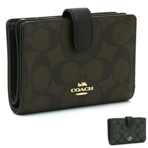 コーチ アウトレット COACH OUTLET 二つ折り財布L字ファスナー F23553|santnore