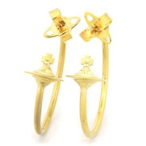 ヴィヴィアンウエストウッド Vivienne Westwood ローズマリースモール ROSEMARY SMALL ピアス BE1642 2 ゴールドカラー|santnore