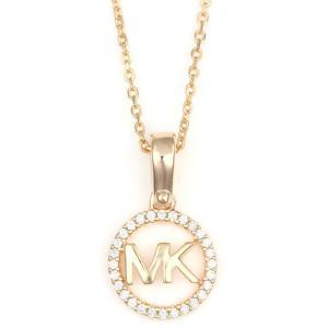 マイケルコース MICHAEL KORS ロゴチャームネック LOGO CHARM NECK  ネックレス ペンダント  MKC1108AN791 ローズゴールドカラー|santnore