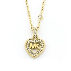 マイケルコース MICHAEL KORS LOVE IS IN THE AIR ネックレス MKJ7152710 イエローゴールドカラー santnore
