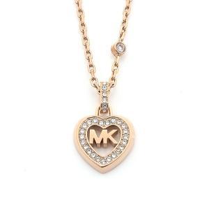 マイケルコース MICHAEL KORS LOVE IS IN THE AIR ネックレス MKJ7153791 ローズゴールドカラー|santnore