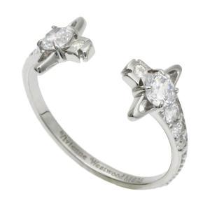 クーポン使えます ヴィヴィアンウエストウッド Vivienne Westwood レイナ REINA リング 指輪 SR569 1 シルバーカラー|santnore