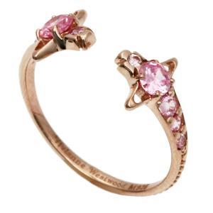 ヴィヴィアンウエストウッド Vivienne Westwood レイナ REINA リング 指輪 SR569 7 ピンクゴールドカラー|santnore