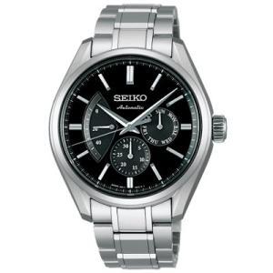SEIKO セイコー プレザージュ メカニカル SARW023:ブラック  時計/ウォッチ|santnore