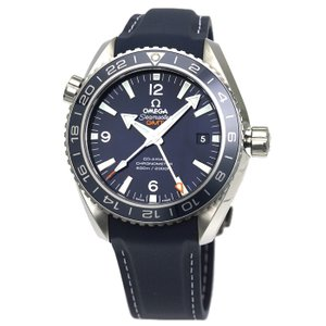 オメガ OMEGA シーマスター プラネットオーシャン600m コーアクシャル GMT メンズ 時計 ウォッチ 232 92 44 22 03 001 ブルー文字盤|santnore