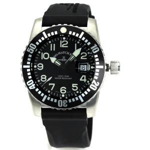 期間限定セール ゼノウォッチバーゼル ZENO-WATCH BASEL エアプレインダイバー Airplane Diver メンズ 時計 ウォッチ 6349 515Q 12 a1 ブラック文字盤|santnore