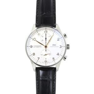 IWC ポルトギーゼ クロノグラフ メンズ 時計 ウォッチ IW371445 シルバー文字盤|santnore