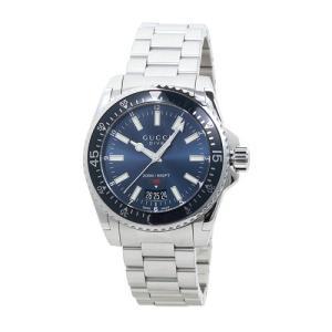 INT-772GUCCI/グッチ YA136311 DIVE/ダイブ L メンズ ブルー  時計/ウォッチ|santnore