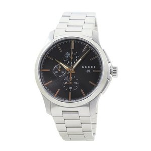 グッチ GUCCI YA126272 G-タイムレス クロノ XL メンズ ブラック 時計/ウォッチ|santnore