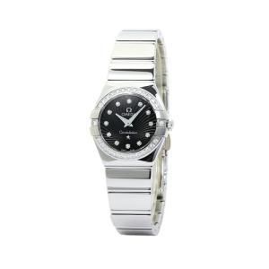 期間限定セール オメガ OMEGA コンステレーション ポリッシュ レディース ダイヤ取巻き 123.15.24.60.51.002:ブラック/12Pダイヤ 時計/ウォッチ santnore