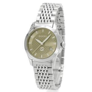 グッチ GUCCI Gタイムレス G TIMELESS レディース 時計 ウォッチ YA1265007 ブラウン文字盤|santnore
