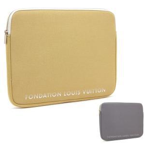 クーポン使えます ルイヴィトン LOUIS VUITTON フォンダシオンルイヴィトン Fondation Louis Vuitton パソコンケース LAP TOP SLEEVE 13インチ|santnore