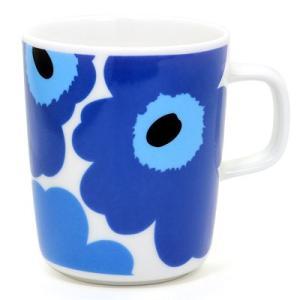 マリメッコ  ウニッコ マグカップ   63431-017 ブルー 250ml|santnore