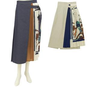 ラリアムー Lallia Mu オリジナルプリントデザインスカート 2012883 レディース|santnore