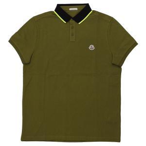 ストックプライス モンクレール MONCLER MAGLIA POLO MANICA C 半袖ポロシャツ 83041 84556 メンズ|santnore