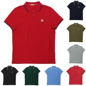 ストックプライス モンクレール MONCLER MAGLIA POLO MANICA C 半袖ポロシャツ 83043 84556 メンズ|santnore