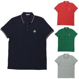 ストックプライス モンクレール MONCLER MAGLIA POLO MANICA C 半袖ポロシャツ 83130 84444 メンズ|santnore