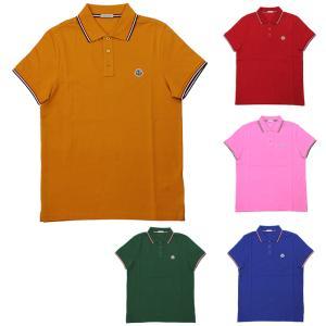 ストックプライス モンクレール MONCLER MAGLIA POLO MANICA C 半袖ポロシャツ 83456 84556 メンズ|santnore