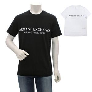 アルマーニエクスチェンジ ARMANI EXCHANGE クルーネックコットン半袖Tシャツ 8NZT72 Z8H4Z メンズ|santnore