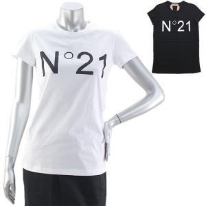 クリアランス ヌメロヴェントゥーノ N゜21 ロゴプリントTシャツ F031 4157|santnore
