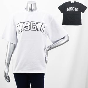 期間限定セール エムエスジーエム MSGM ロゴプリントTシャツ MDM162 298 レディース|santnore